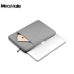 Luva do portátil de náilon saco portátil bolsa para macbook air 11 13 12 15 pro 13.3 15.4 retina unissex forro manga para xiaomi ar