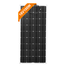 Dokio 18V Monokristalline 100W Flexible Solar Panel Für Auto/Boot/Home Solar Ladung 12V Wasserdicht solar Panel China