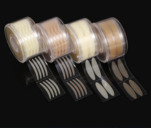 600pcs S/L Eyelid Tape Sticker Invisible Double Fold Eyelid Paste Clear Beige Stripe Self-adhesive Natural Eye Tape Makeup Tools kinepin 1056pcs eyelid tape sticker invisible eyelid paste transparent self adhesive double eye tape tools