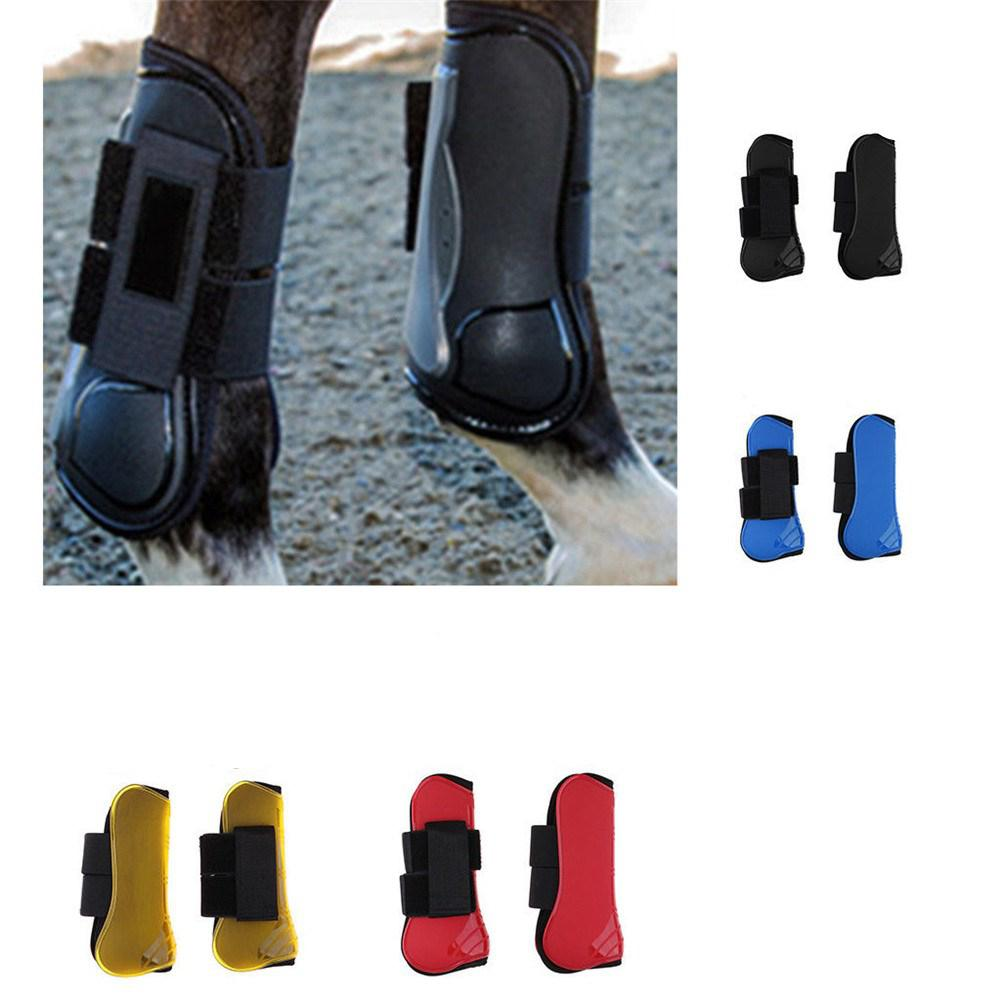 Horse Front Leg Protector Soft Leggings PU + Diving Material Leg Guard For Horse Outdoor Sports Game