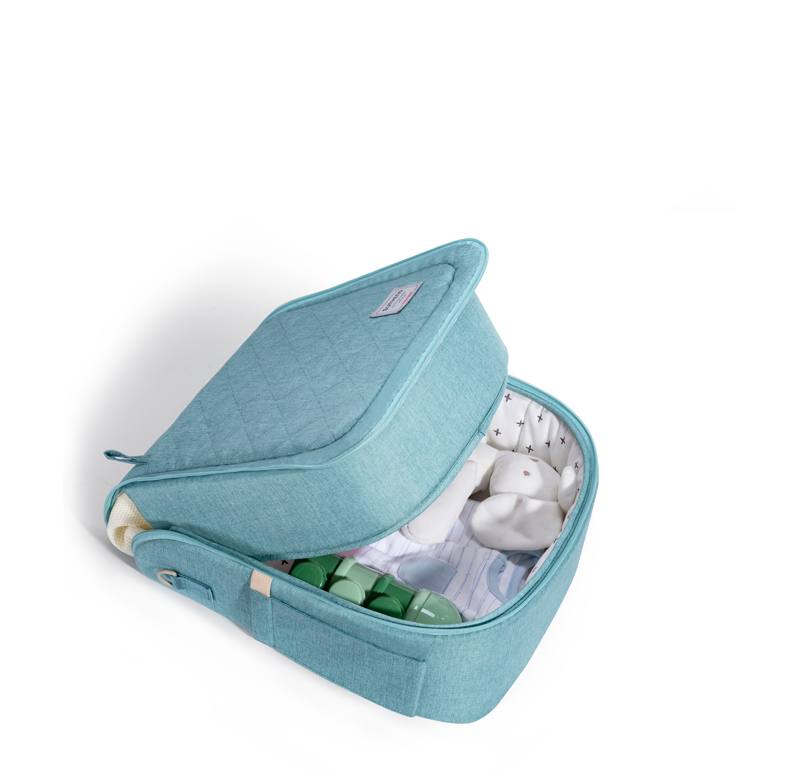 Sunveno 2in1 Baby Travel Bag Bed Foldable Bed Nest Baby Bed for Newborn Baby Infant