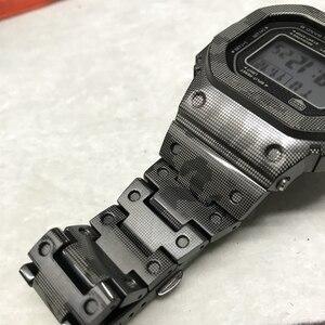 Image 3 - גבוהה באיכות GMW B5000 טיטניום סגסוגת Watchbands לוח עבור GMW B5000 מתכת רצועת צמיד כיסוי עם כלים 3 צבעים