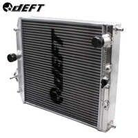 Hábil radiador automático de coche radiador de carreras de aluminio completo para Honda Civic EK EG Del Sol Manual 92-00 D15 D16 28MM 32MM calibre