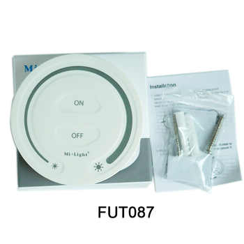 FUT089 Remote Controller MiBOXER DC12V~24V LS2S DIN Rail 5 IN 1 LED Strip Controller,FUT087 2.4G Touch for LED Strip light