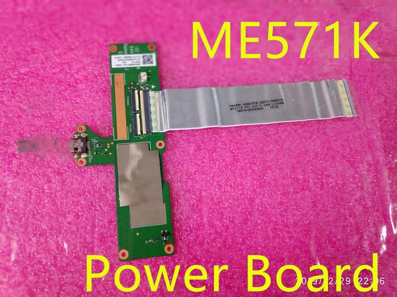 Original Me571k Usb Power Board For Asus Google Nexus 7 2nd Gen 2013 ME571K K008 K009 With Cable 14010-00330800 Fpc 42p  Test OK