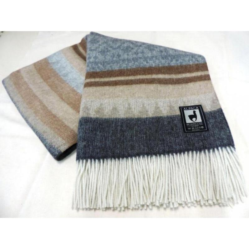 Plaid INCALPACA (55 wool alpaca, 45 wool Merino) PP-57 цена