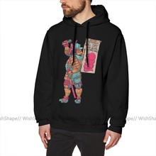 Mf Doom Hoodie Daimyo DOOM Hoodies Cool Grey Pullover Hoodie Oversize Warme Baumwolle Lose Lange Männlichen Hoodies(China)