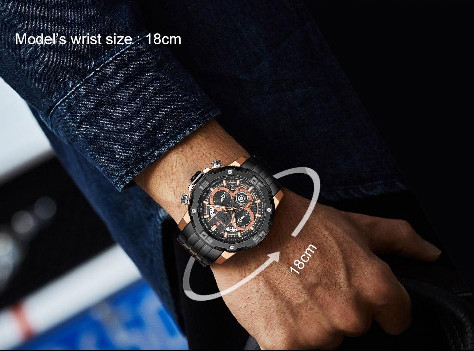 NAVIFORCE NF9175 Stainless Steel Watch 5