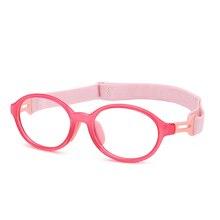 Kids Glasses Anti-Blue light Goggles Soft-Frame-Frame Girls Children for Boy Silicone