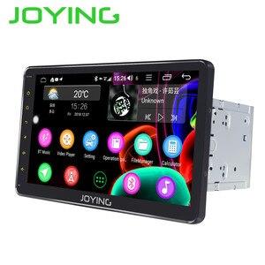 JOYING 10,1 дюймов IPS экран 2 din автомобильное радио Android 8,1 Восьмиядерный стерео аудио радио плеер 4 + 64 Гб Встроенный 4G и DSP SWC GPS карты