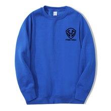 Fashion Casual Men's Sweater Autumn And Winter Loose All-Match Korean Retro Plus Size Sweater Crew Neck Pullover M-3XL