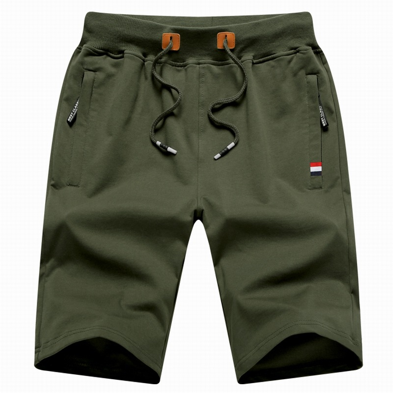 New Brand Clothes Mens Shorts Fashion Board Shorts Male Breathable Casual Cotton Shorts Mens Short Solid Color Beach Short Pants