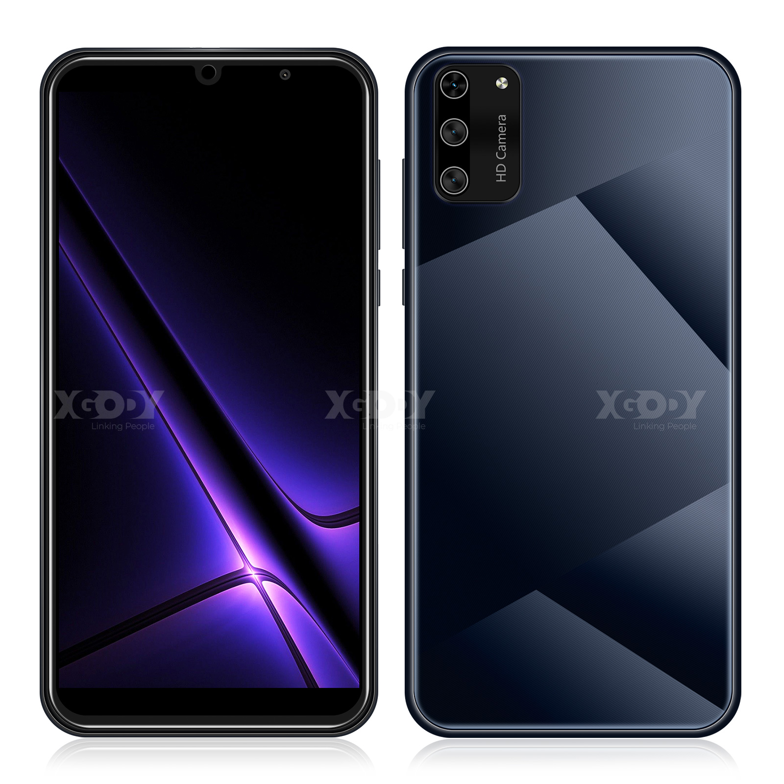 "XGODY S20 mini 3G teléfono inteligente 1GB de RAM 4GB ROM teléfonos móviles Android 9,0 Dual SIM 5,5 ""teléfono móvil 5MP Cámara WiFi teléfono celular"