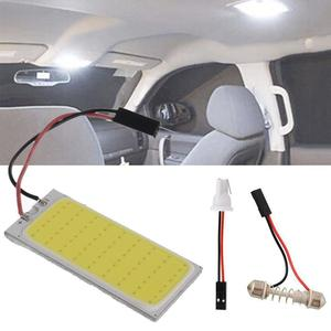 12 V Xenon HID White 36 COB LED Dome Map Light Bulb Car Interior Panel Lamp Interior LED bulbs car styling