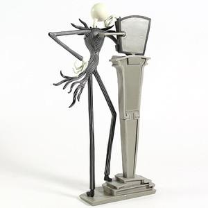 Image 5 - Новый Кошмар перед Рождеством фигура Джек стул специальный 25 лет Джек Скеллингтон фигура ПВХ Фигурки Рождественский подарок