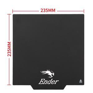 Image 2 - المغناطيسي بناء سطح لوحة طابعة ثلاثية الأبعاد جزء منصات مرنة 235x23 5/300*300 ل Hotbed Ender 3/ender 5/ender 3 برو/CR 10