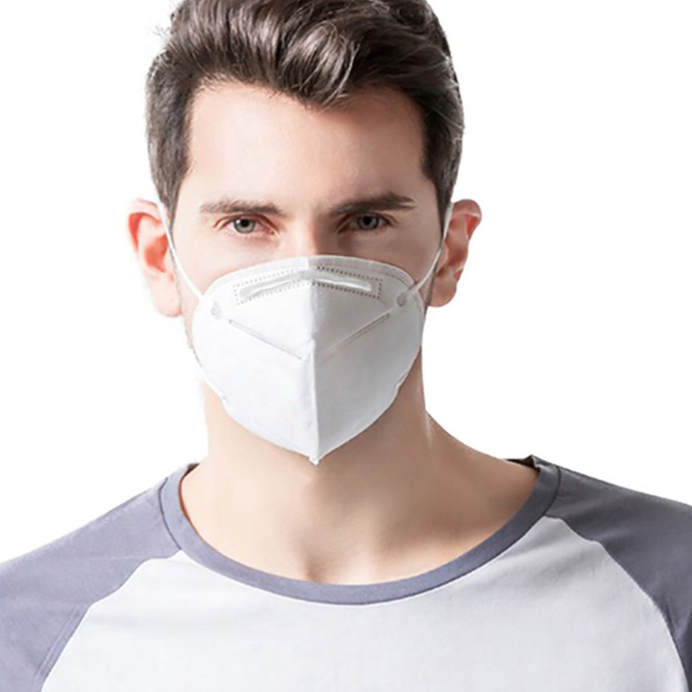 [HOT] KN95 Mask Dust Filters Droplets Non-woven Face Mouth Dust Smoke Pollution Particle Anti Infection As N95 FFP2 Mask
