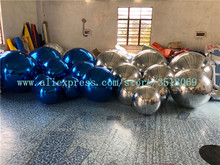Large inflatable mirror ball, pvc suitable for shopping mall bar stage hanging decoration