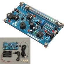 Собранный DIY счетчик Гейгера комплект модуль Миллер трубка GM трубка детектор атомного излучения