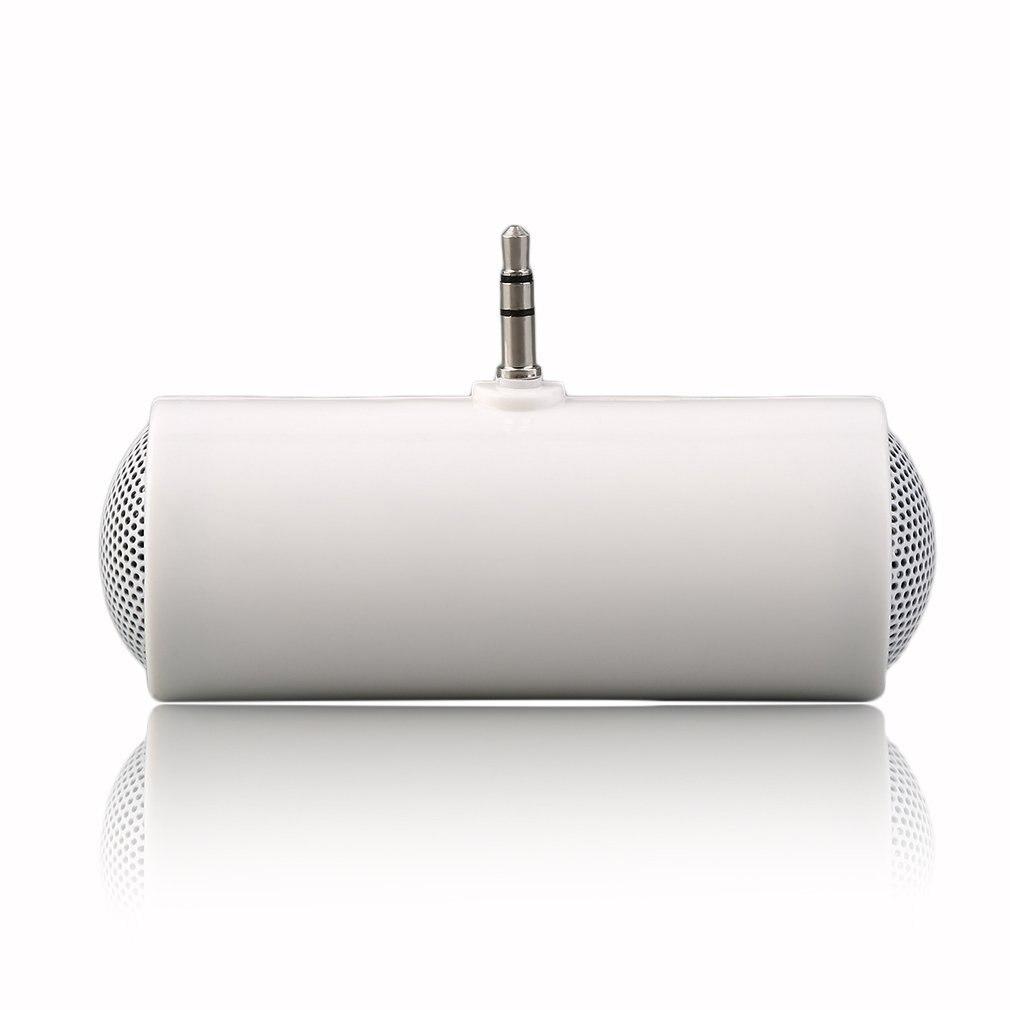 Mini reproductor de MP3 estéreo amplificador altavoz para teléfono móvil inteligente iPhone iPod, conector MP3 3,5mm reproducción de Audio