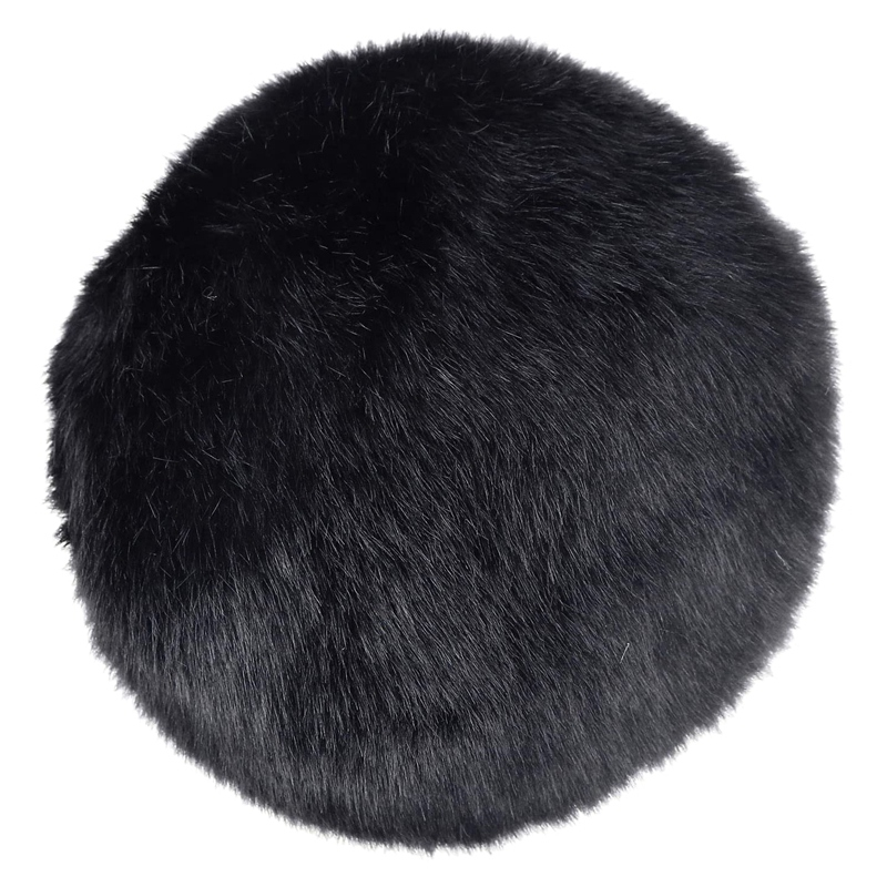 Furry Windsn for Microphone, Windshield Wind Cover for Improve <font><b>Blue</b></font> <font><b>Snowball</b></font> Mic o image