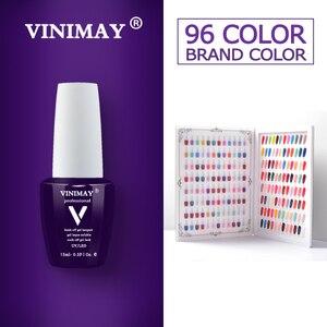 Image 1 - VINIMAY 96 Color Gel Nail Polish Gelpolish Gel Varnis Gellak Varnish Primer Set Soak Off opies UV Gel Polish Nail Art Salon 15ML