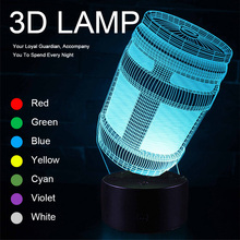 Cute Lamp Most Sold Novelties Novelty Products Night Lights for Bedroom USB Lighting Children's Lamps Led Fancy Gifts Party 3D