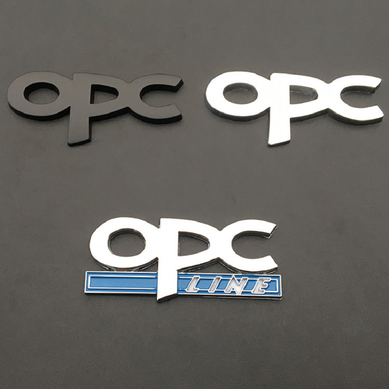 Image 2 - OPC line Emblem Badge Car Styling Stickers emblem Front Grille For Opel Mokka Corsa Meriva Zafira Astra J H G Vectra Antara in-in Car Stickers from Automobiles & Motorcycles