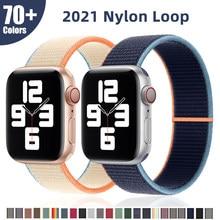 Pulseira para apple pulseiras de relógio pulseira cinto 44mm 3 38mm feminino se iwatch 40mm 42mm acessórios série 4 5 6 esporte loop