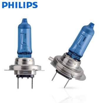 2X Philips H7 12V 55W PX26d Diamond Visio 5000K Auto Accessories Super white  car bulb halogen auto light bulbs  12972DVS2