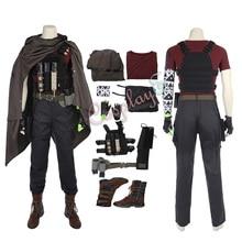 Кабельный костюм Дэдпул 2 Косплей Натан летний плащ наряд мужской костюм на Хэллоуин полный комплект
