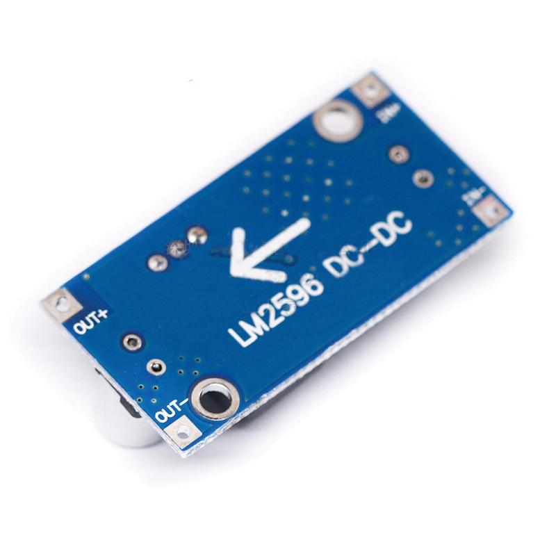 DIP 1PCS DC-DC Buck Converter Step Down Modul LM2596 Netzteil Ausgang 1,25 V-30 V