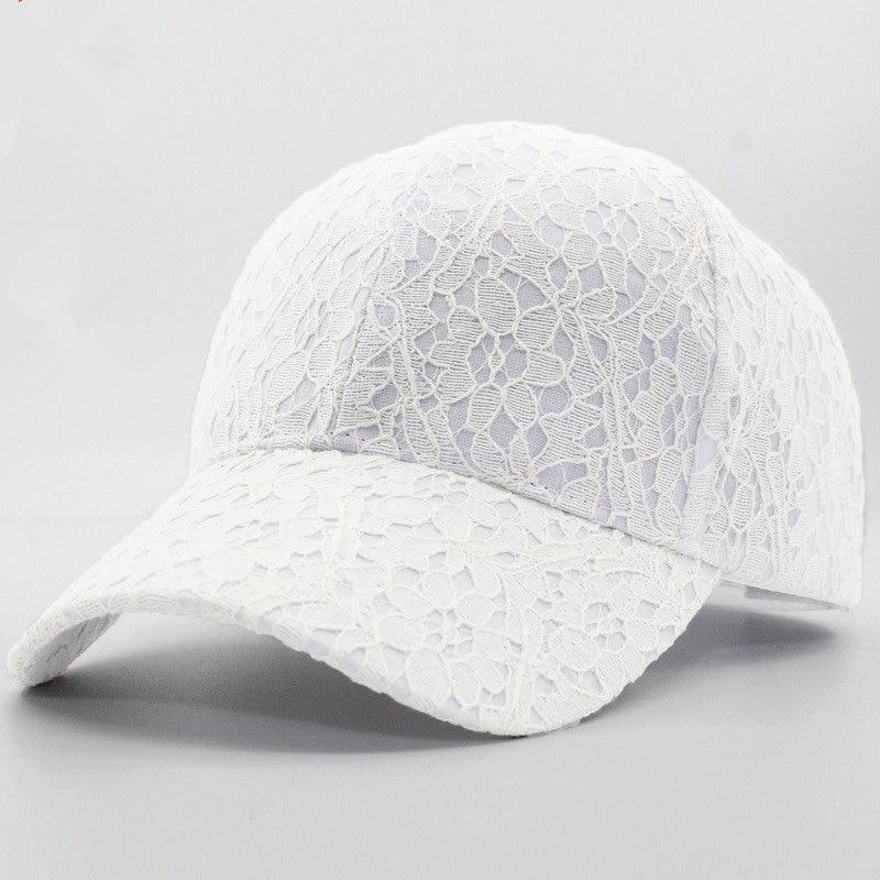 Women's Baseball Cap Summer Lace Thin Snapback Baseball Caps For Femme Outdoor Sports Bonnet Caps Women Hat