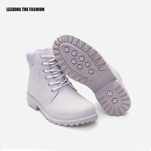 Coturno Martin leather shoes high-top fashion winter warm snow shoes Dr. motorcycle ankle boots unisex Doc boots 46 цена 2017