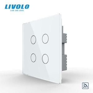 Image 3 - Livolo İngiltere standart 1way duvar işık uzaktan dokunmatik anahtarı, cam Panel, uzaktan kablosuz kontrol anahtarları, hayır wifi fonksiyonu