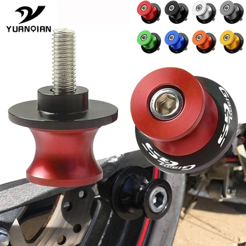 Motorcycle Accessories Parts Swingarm Spools Slider Stand Screws 6mm 8mm 10mm Motor Stand Screws For BMW G650GS G 650GS G650 GS image