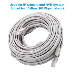Image 5 - CCTV Cable RJ45 for video surveillance cable camera Ethernet Network DC Power 2 in 1 Network Extension Lan 5/10/20/30m IP Camera