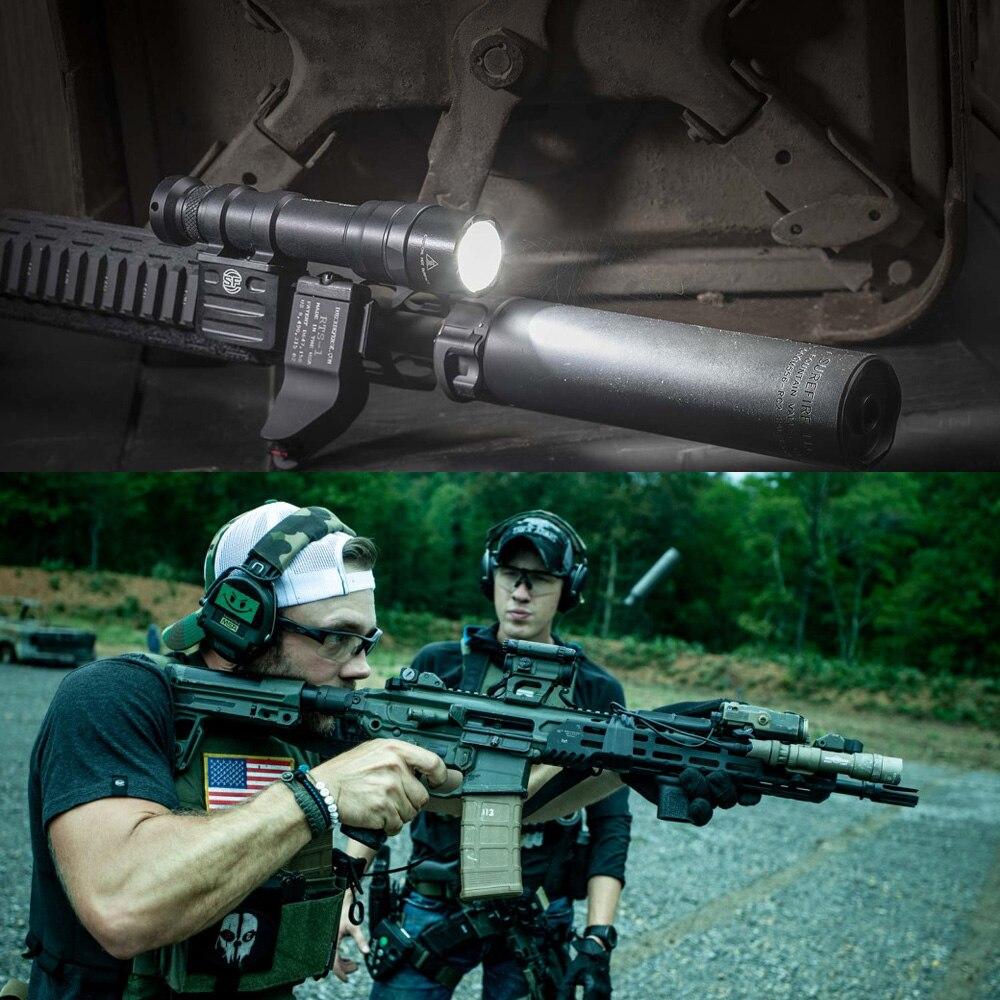 luz led 1400lumes tatico caca arma lanterna tocha caber 20mm 1913 trilhos 05