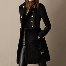 Пальто зимнее женское 2020 Новое ТРАПЕЦИЕВИДНОЕ модное простое