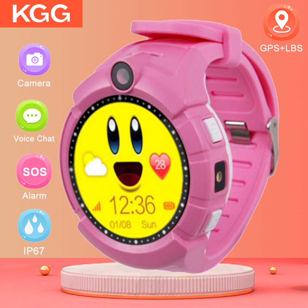 Q360 Child smartwatch SOS Anti Lost Monitor Tracker baby GPS Watch Kids Smart Watch with Camera GPS WIFI Location PK Q528 Q90 in Smart Watches from Consumer Electronics