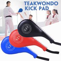 Taekwondo Equipment Boxing Pads Karate Punch MMA PU Rebound Sponge Pads Double Kick for Kids Adult Boxing Target Pad