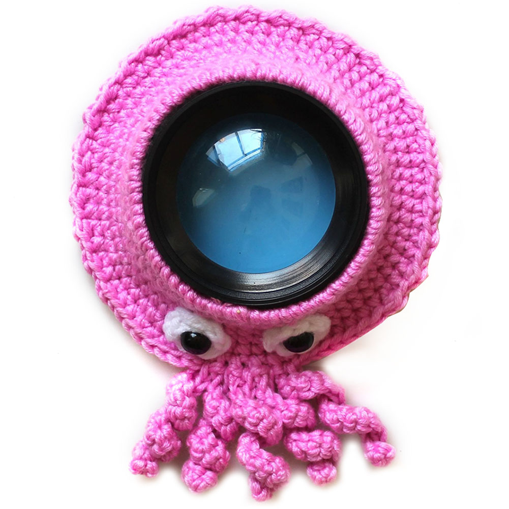 Teaser Toy Cute Animal Pet Camera Buddies Knitted Child Lens Accessory Handmade Kid Photography Props Posing Shutter Hugger