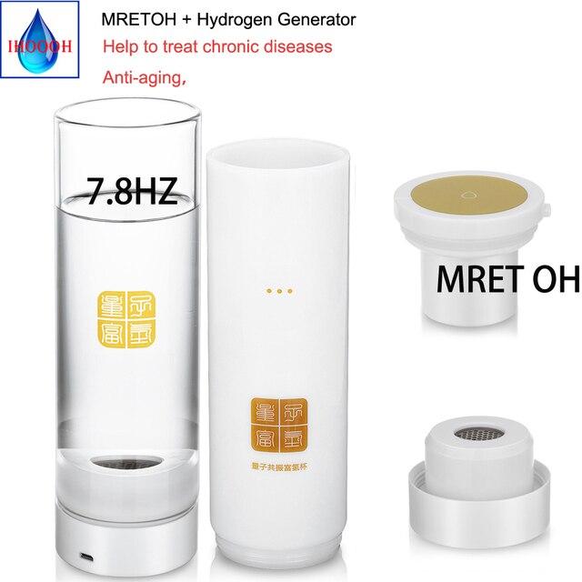 MRETOH générateur deau hydrogène riche en résonance moléculaire H2 bouteille deau améliorer limmunité réparation dommages cellulaires anti oxydation