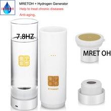 MRETOH moleküler rezonans zengin hidrojen su jeneratörü H2 su şişesi bağışıklık geliştirmek onarım cep hasar anti oksidasyon