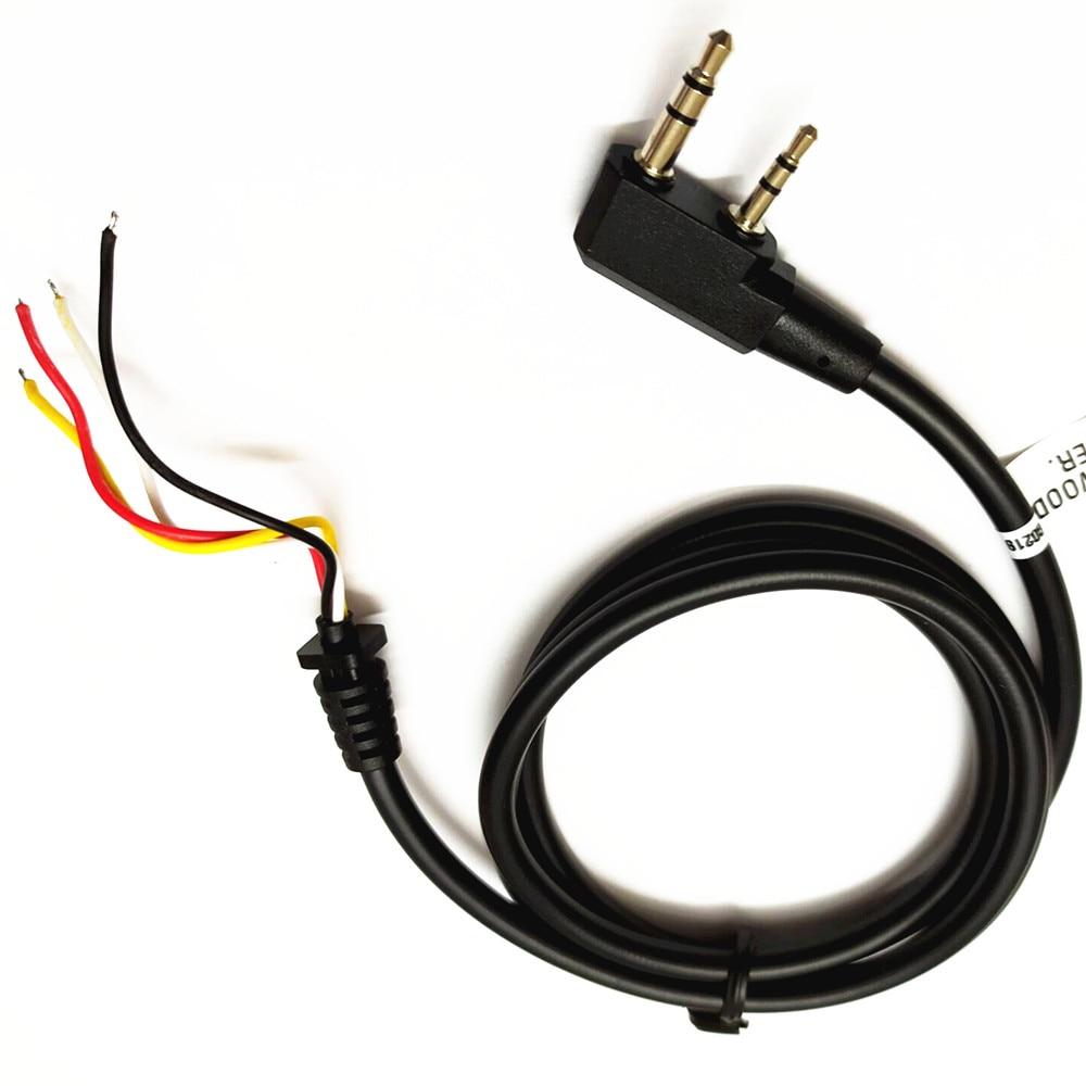 U94 PTT replace cable DIY replace k-head cable for Z-Tactical TCA-SKY PELTOR COMTAC MSA EARMOR TCA TRI U94 PTT ST94