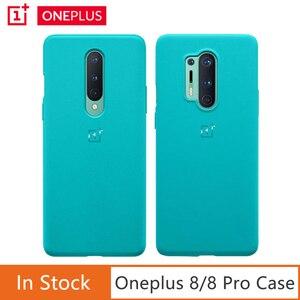 Image 1 - Oneplus غلاف من الحجر الرملي لهاتف Oneplus 8 8 Pro ، رسمي ، محكم بشكل فريد ، لهاتف Oneplus 8 8 Pro