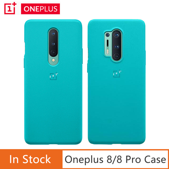 Oneplus غلاف من الحجر الرملي لهاتف Oneplus 8 8 Pro ، رسمي ، محكم بشكل فريد ، لهاتف Oneplus 8 8 Pro