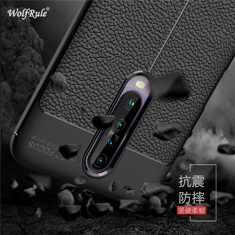 Case Redmi K30 Cover Shockproof Luxury Leather Soft TPU Case For Xiaomi Redmi K30 Case Redmi K30 5G Fundas 6.67\