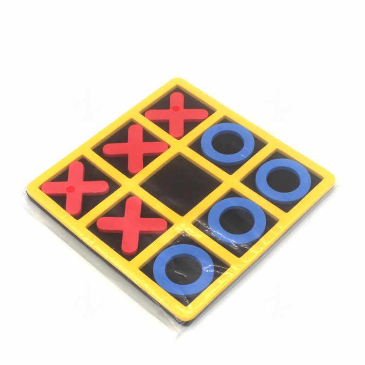 1 قطعة التفاعل بين الوالدين والطفل الترفيه مجلس لعبة OX الشطرنج مضحك تطوير ألعاب تعليمية ذكية