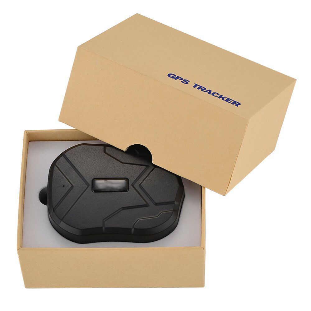 TK-905B устройства слежения Водонепроницаемый в реальном времени GPS GSM GPRS позиция долгого ожидания локатор сигнализации Монитор (черный)